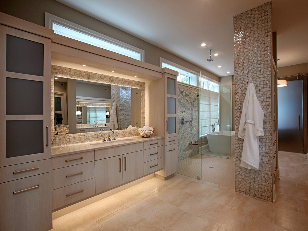 North Longboat Spectacular Master Bath   Eurotech Cabinetry | Sarasota  Custom Cabinetry And Furniture